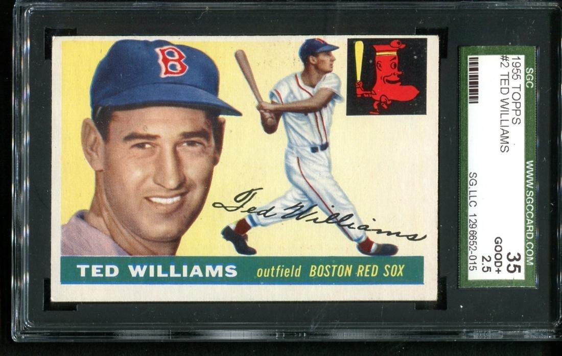 Lot of Three 1950's Topps Stars Graded. - 6