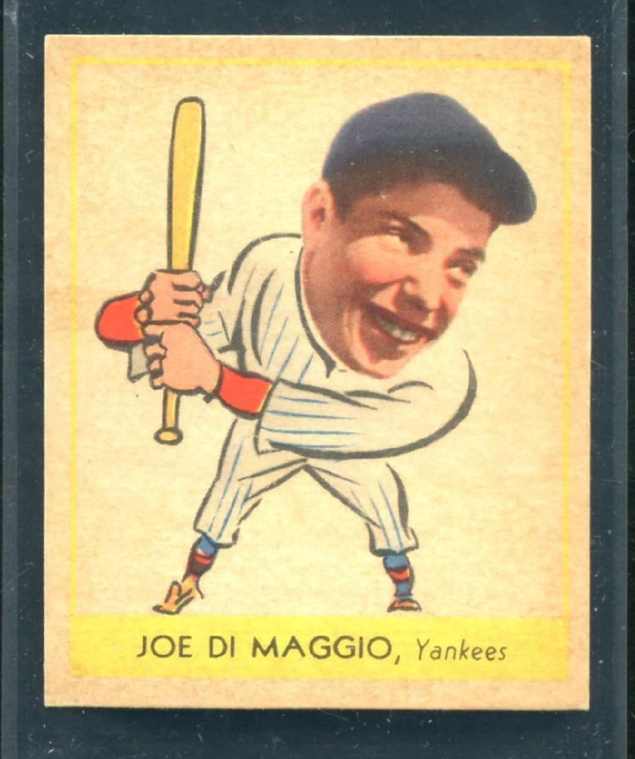 1938 Goudey Joe DiMaggio #250 Rookie Card