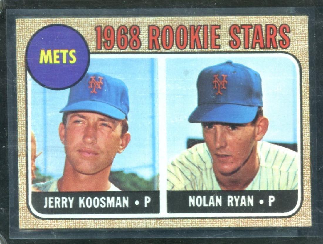 1968 Topps Nolan Ryan #177 Rookie Card