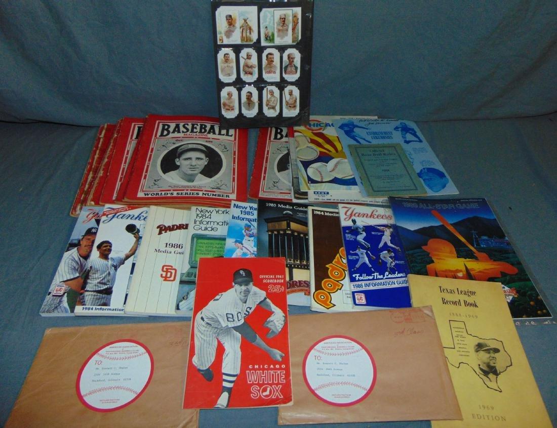 Sports Publication Lot incl. Vintage Magazines