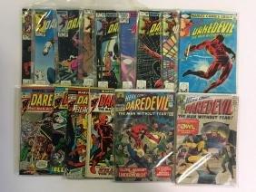 Marvel Comic Lot, Daredevil, Dr. Strange, Punisher