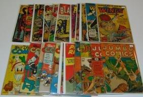 Mixed Golden Age Comic Lot.
