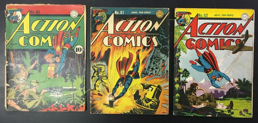 Action 60-62 Three Issues.