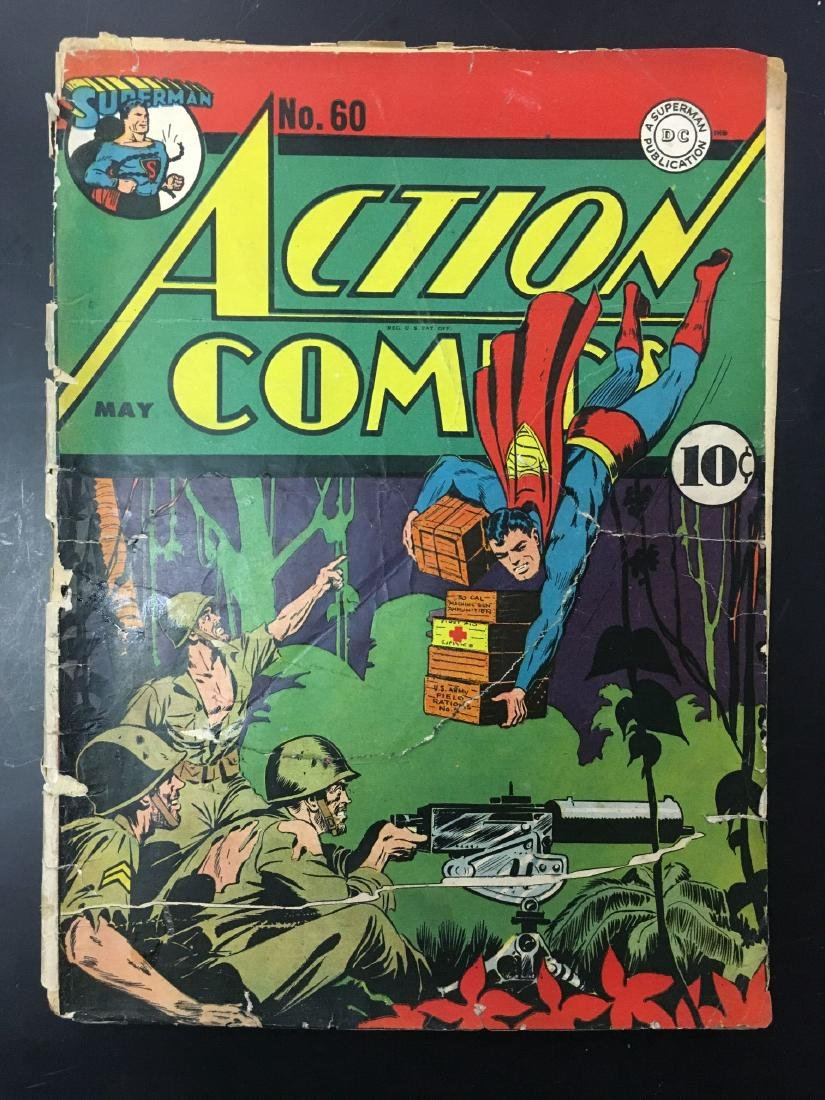 Action 60-62 Three Issues. - 2