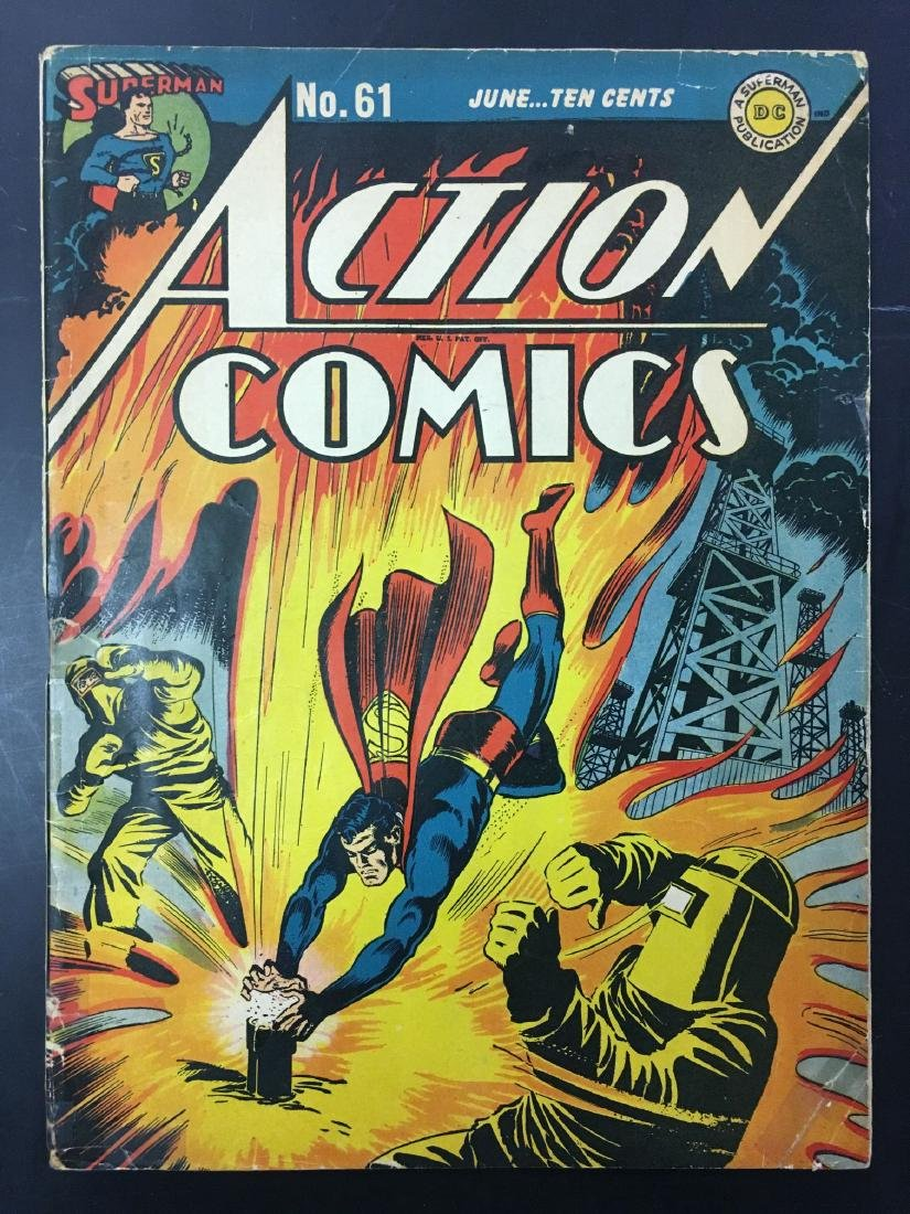 Action 60-62 Three Issues. - 4