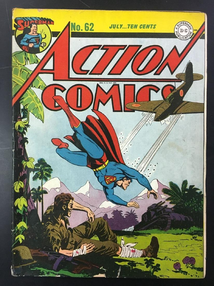 Action 60-62 Three Issues. - 6