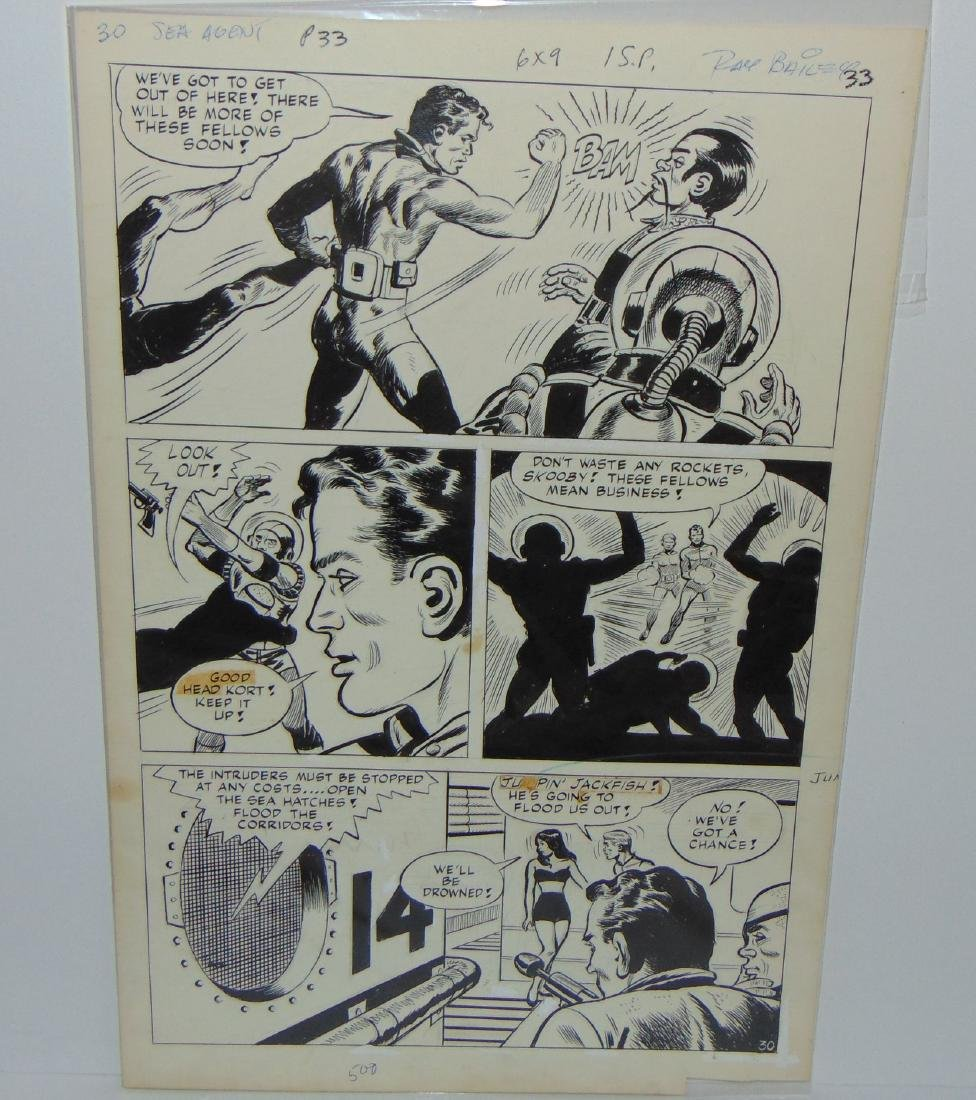 Ray Bailey. Original Comic Book Pages. - 3
