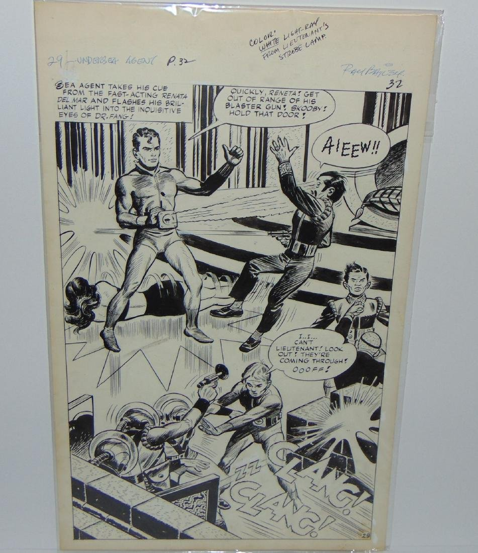 Ray Bailey. Original Comic Book Pages. - 4