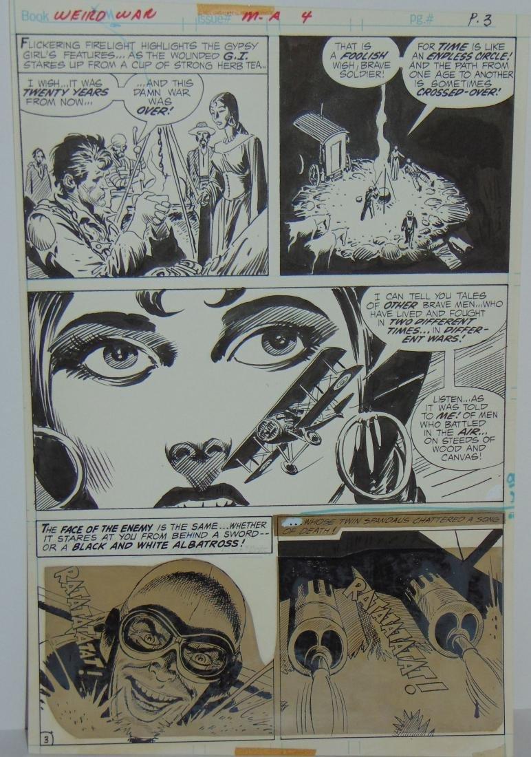 Joe Kubert. Weird War #4 Original Art. - 6