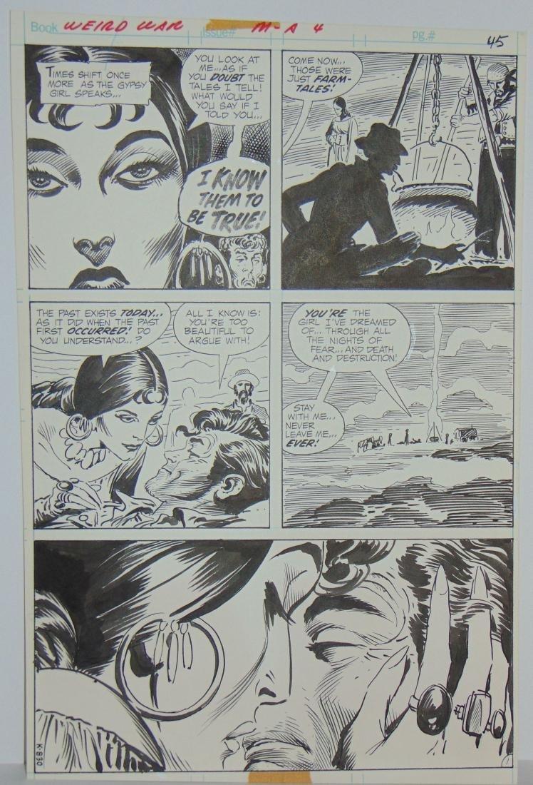 Joe Kubert. Weird War #4 Original Art. - 7
