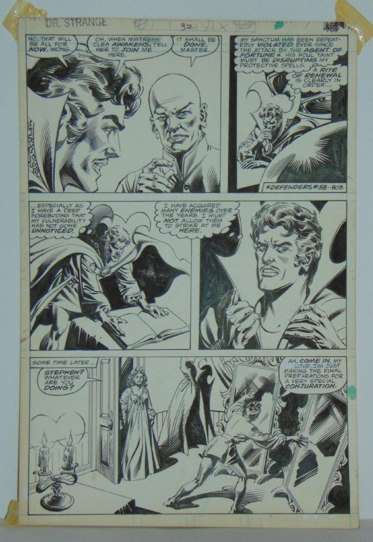 Dr. Strange Original Comic Page. - 2