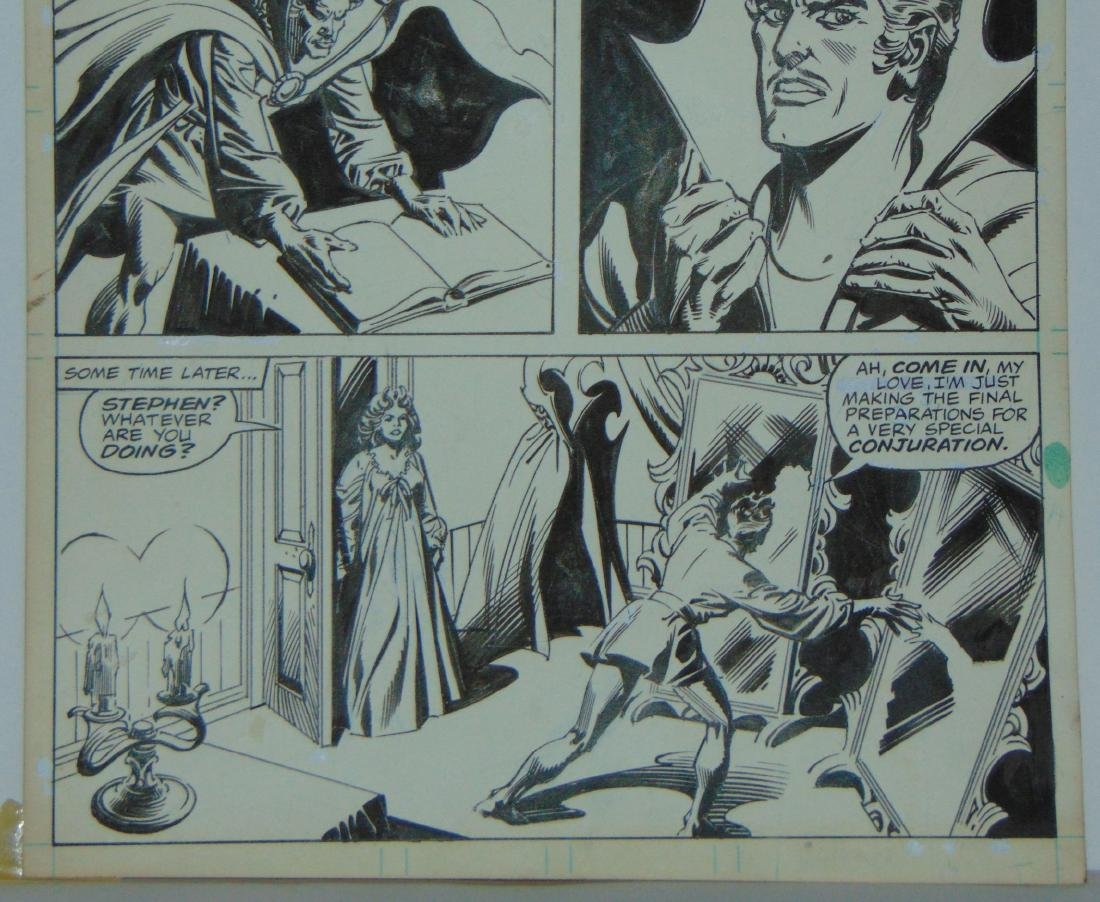 Dr. Strange Original Comic Page. - 4