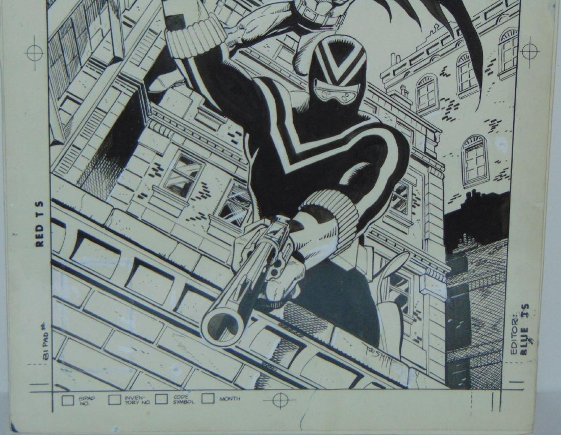 Original Comic Cover. Vigilante #47 - 3