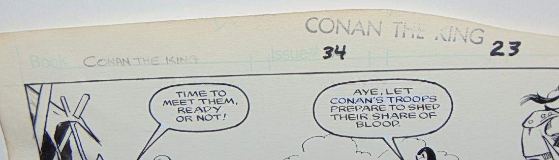 Conan the King. Issue #34 Pages 23 & 27 - 3
