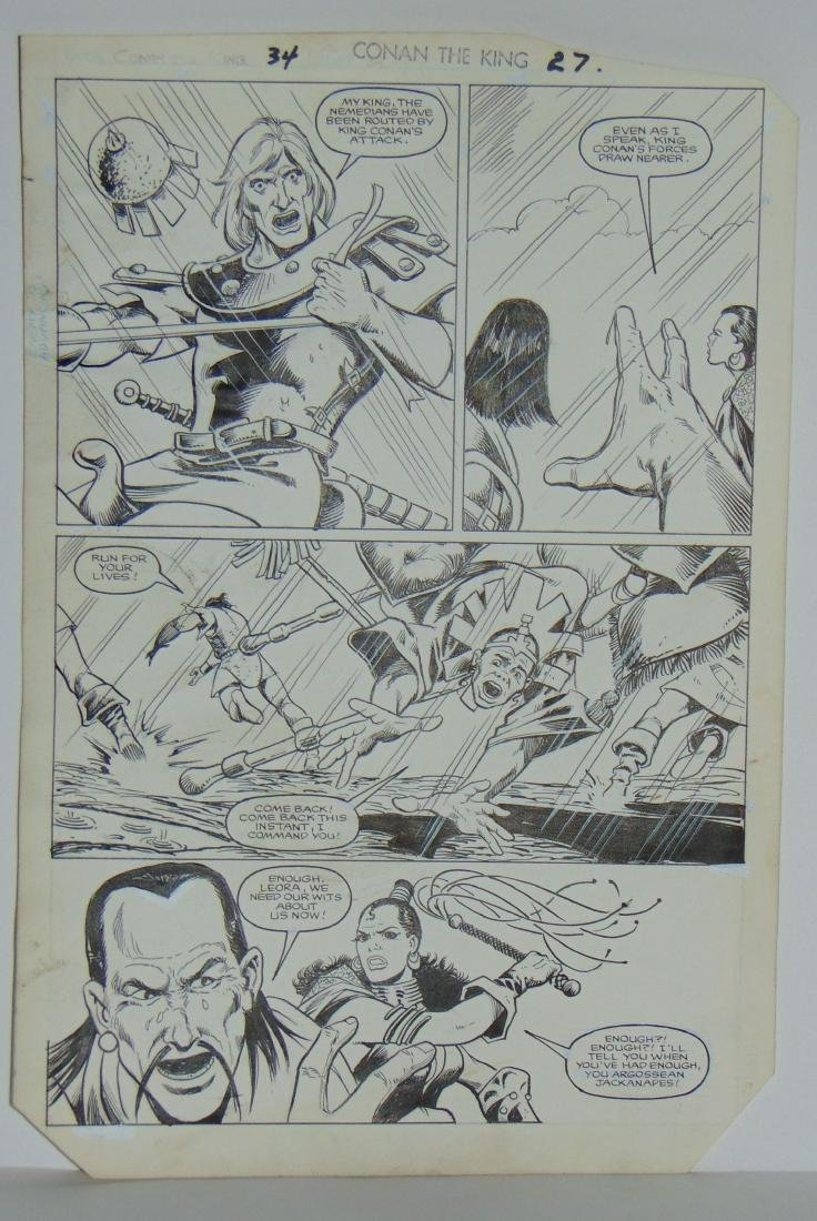 Conan the King. Issue #34 Pages 23 & 27 - 4