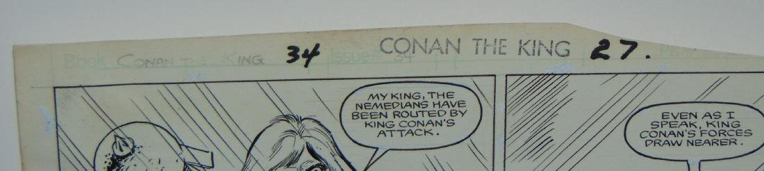 Conan the King. Issue #34 Pages 23 & 27 - 5