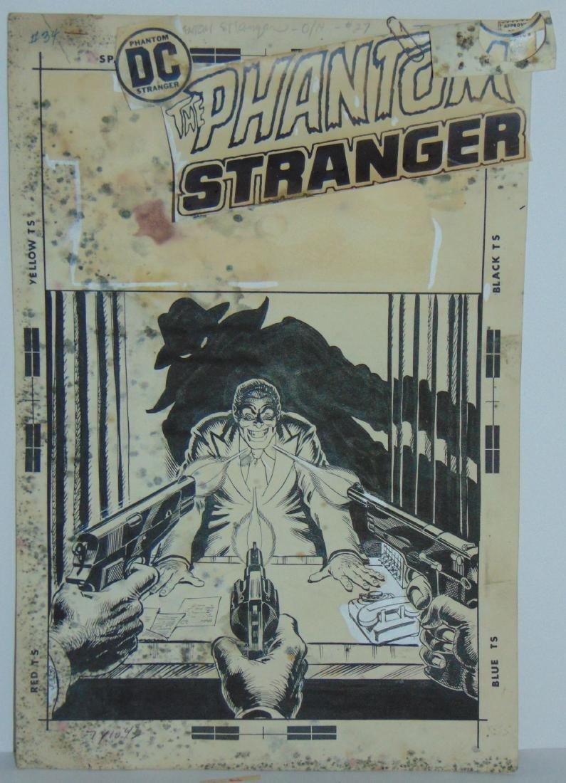 Nick Cardy. Phantom Stranger. #27 Cover Art.