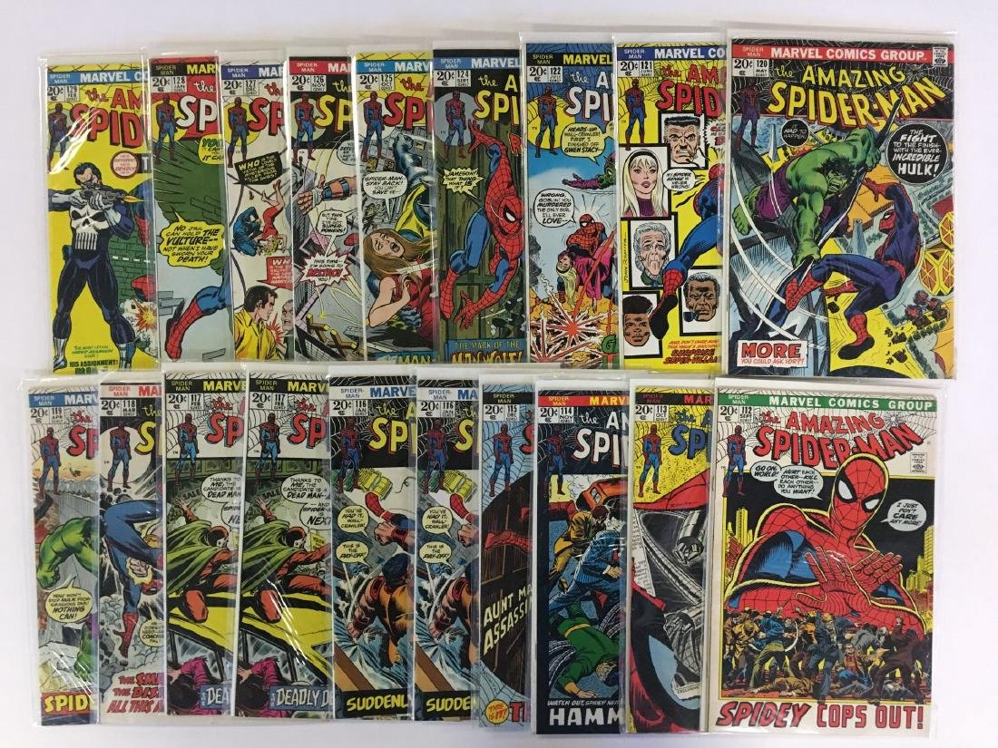 DC and Marvel Lot. Spiderman. - 2