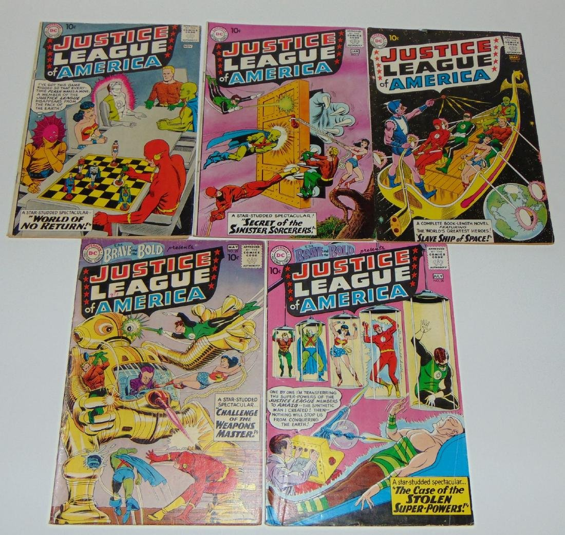Justice League of America Lot.