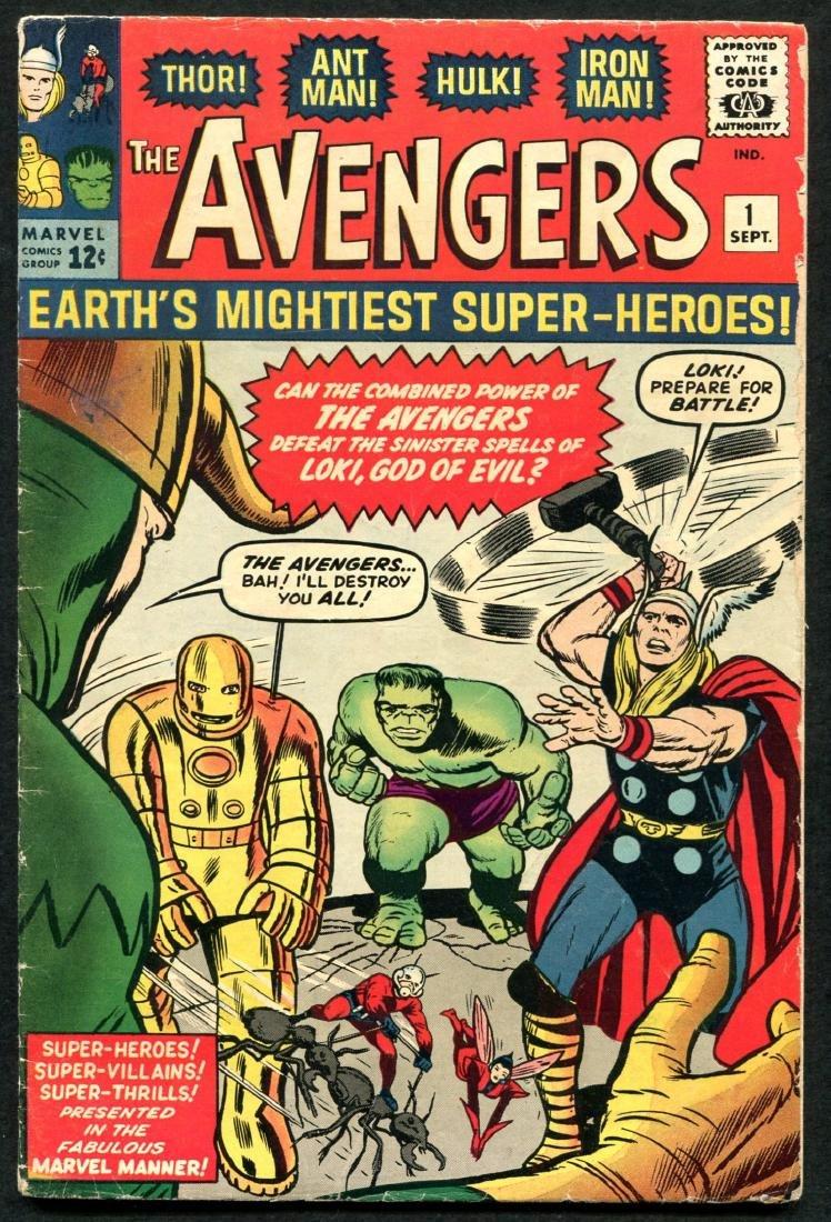 Avengers Comics #1