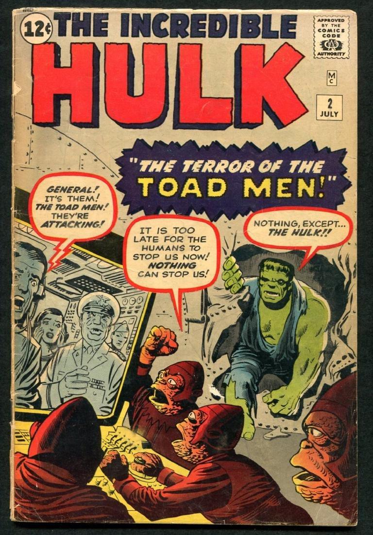 Incredible Hulk Issues 2, 4, & 6. - 2