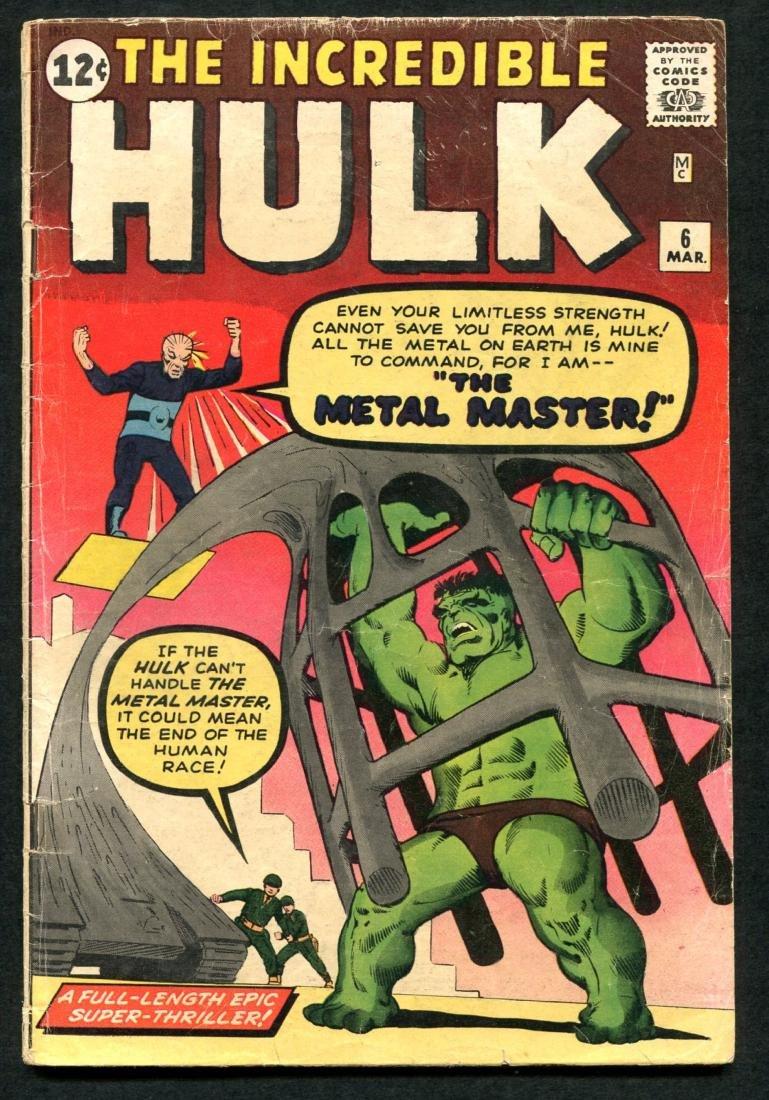 Incredible Hulk Issues 2, 4, & 6. - 6