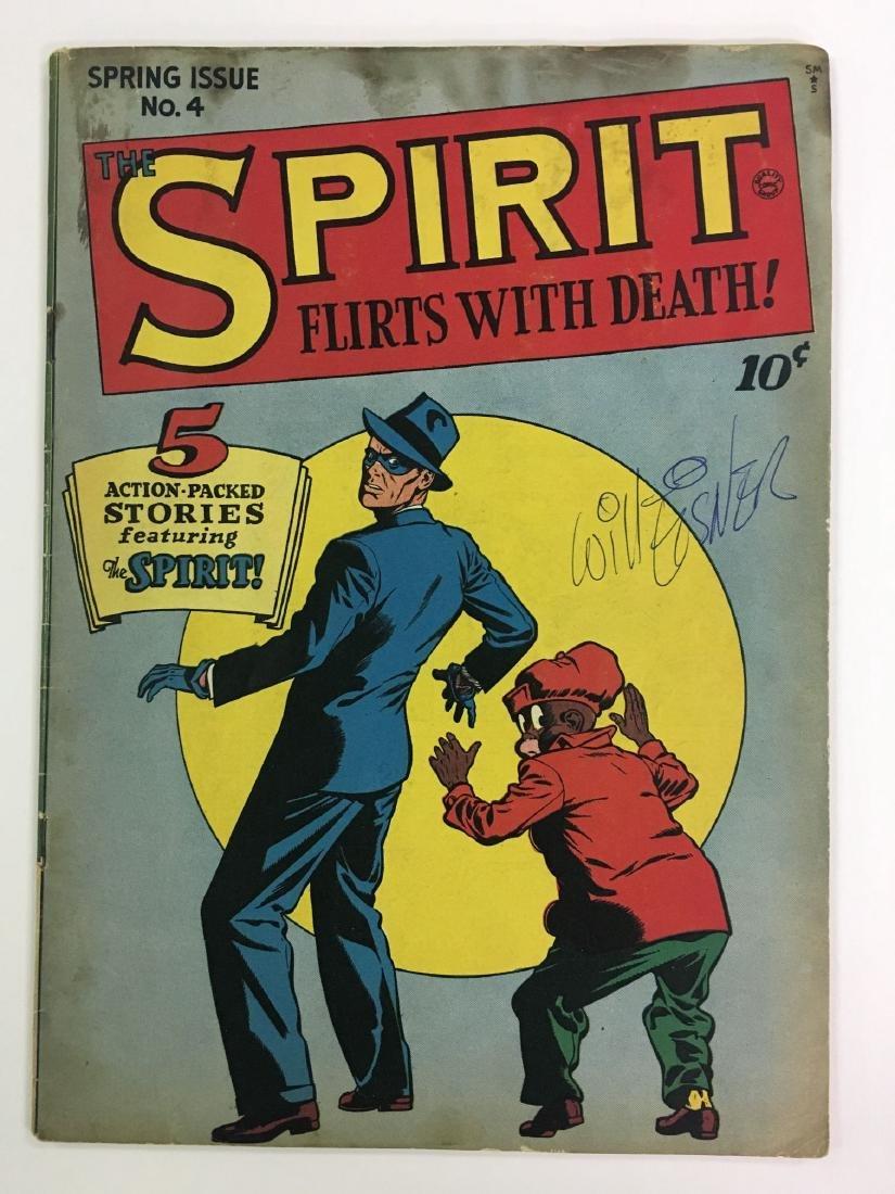 1946 The Spirit #4, Signed Copy Will Eisner