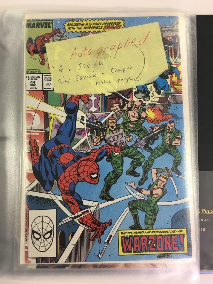Autographed Comic Book Lot - 2