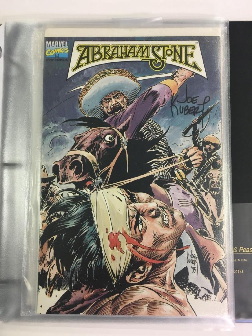 Autographed Comic Book Lot - 3