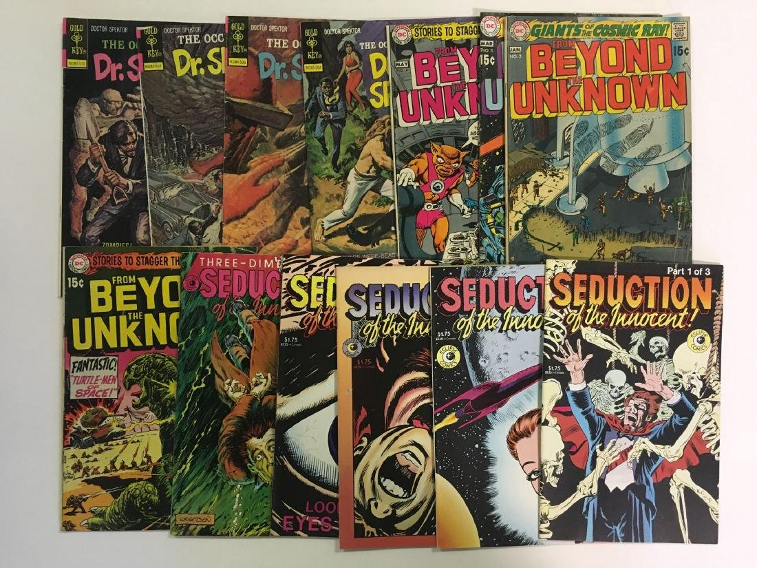Lot of Mostly Sci Fi Horror Books. Marvel. - 4