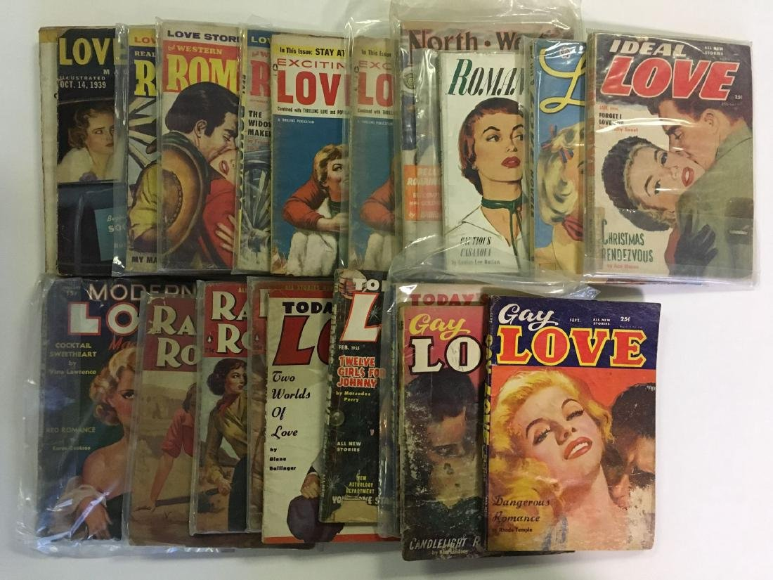 Pulp Lot. 34 different.