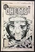 Joe Kubert. Original Cover Art. Ghosts # 107.