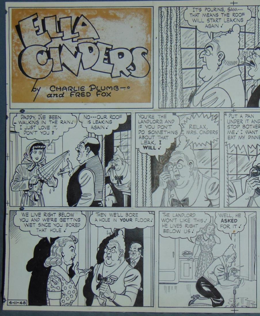 Ella Cinders Sunday Page. - 2