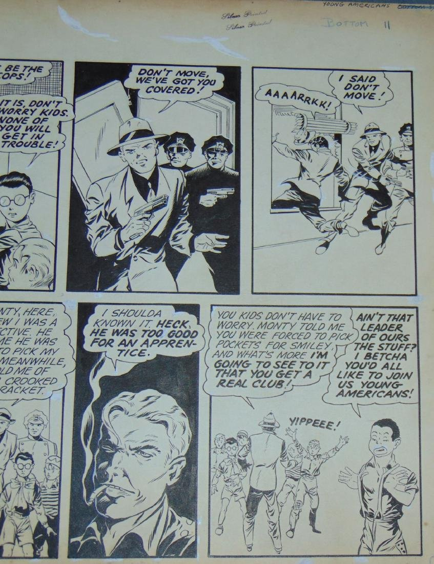 Golden Age. Young Americans. Comic Page. - 3