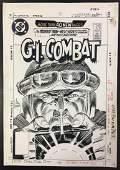 Joe Kubert. Original Cover Art. G.I. Combat #276.