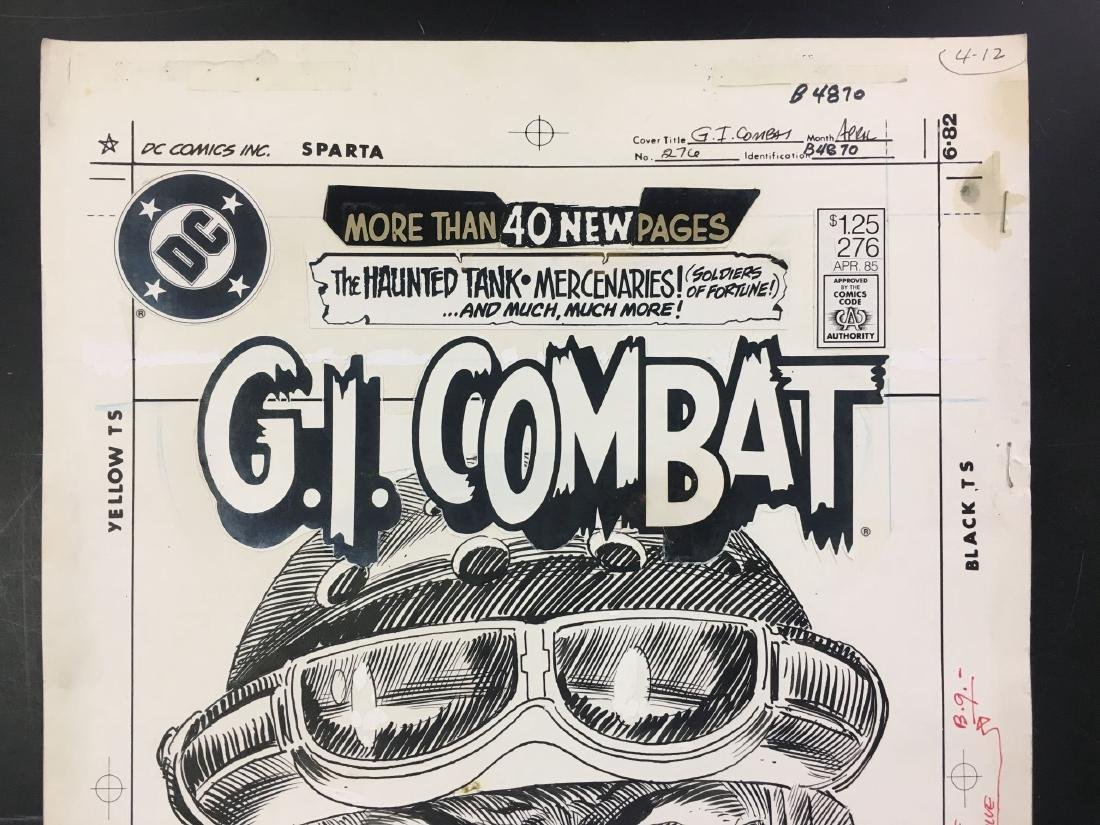 Joe Kubert. Original Cover Art. G.I. Combat #276. - 2
