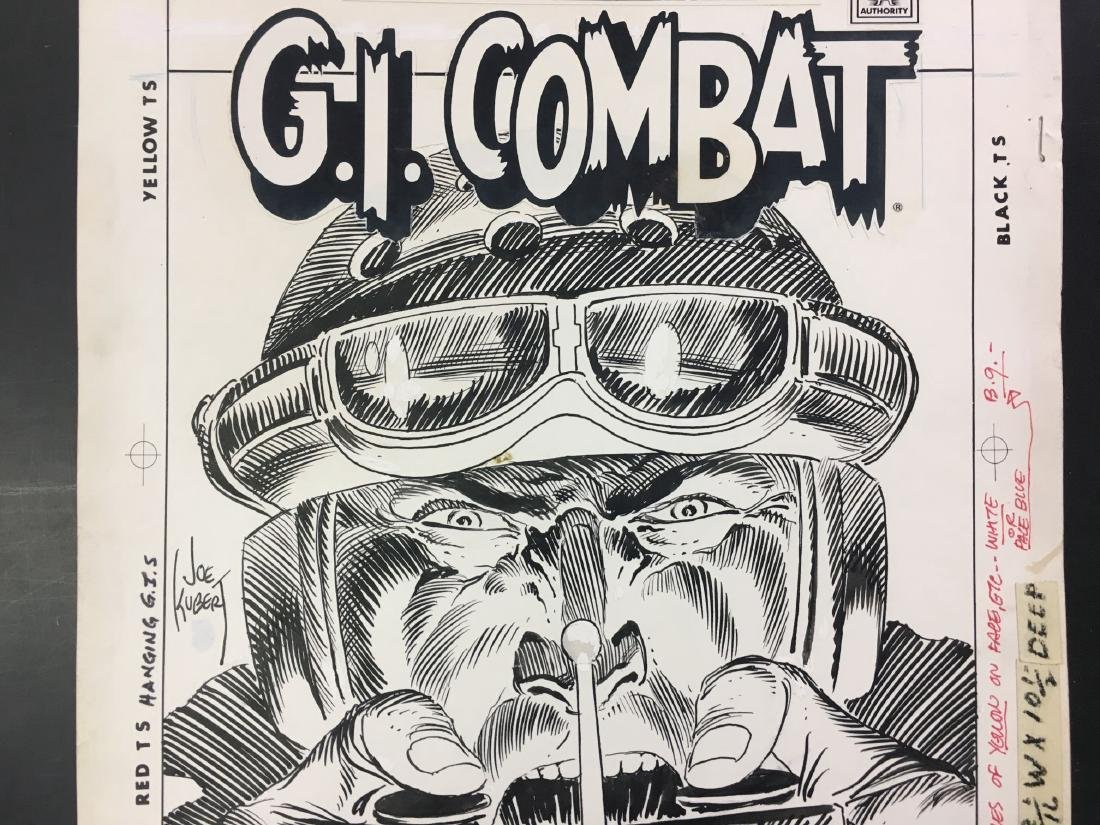 Joe Kubert. Original Cover Art. G.I. Combat #276. - 3