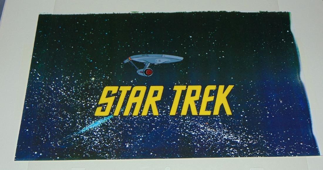 (2) Star Trek Filmation Cels, Animated Series - 3