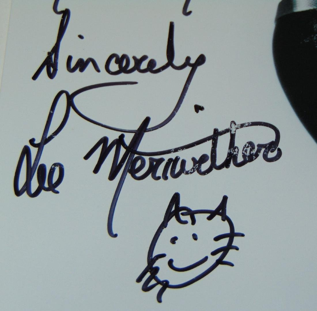 Lee Meriwether Signed Catwoman Photo - 2