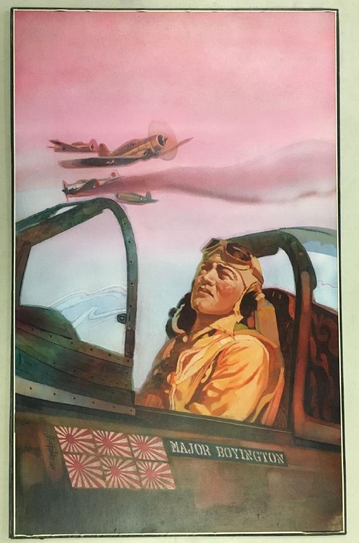 Jim Campbell Original WW2 Illustration Painting