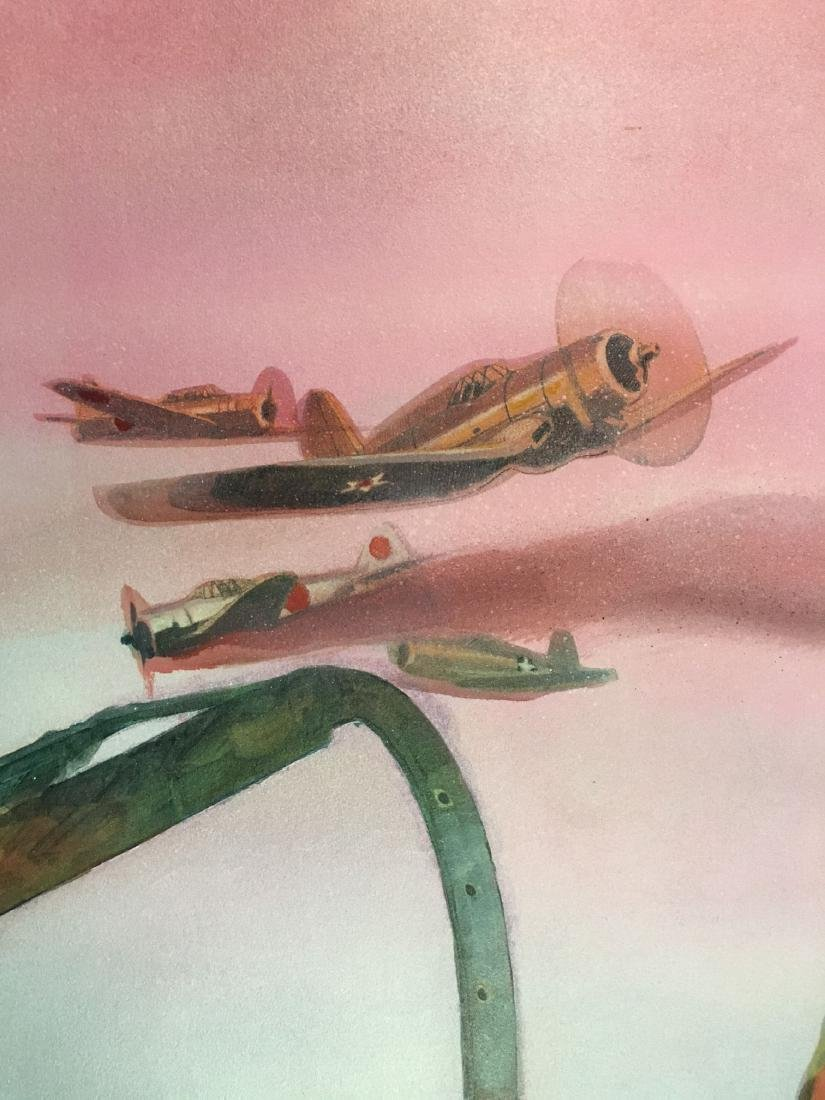 Jim Campbell Original WW2 Illustration Painting - 2