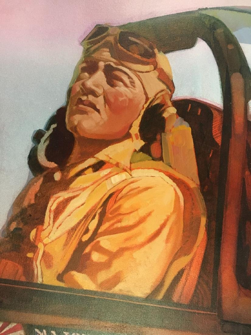 Jim Campbell Original WW2 Illustration Painting - 3