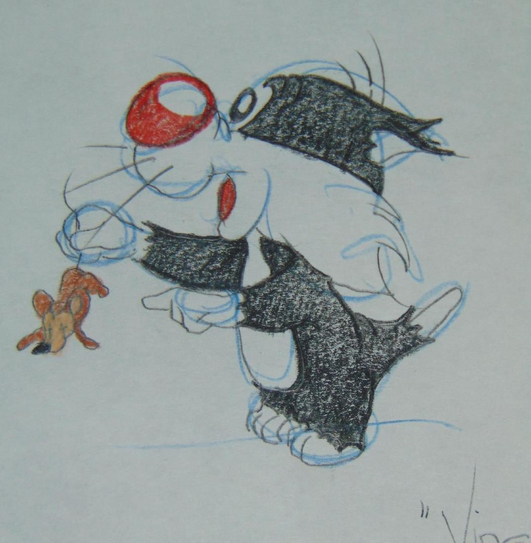 Virgil Ross Original Signed Drawing - 3