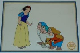 Disney Snow White and Seven Dwarfs Serigraph