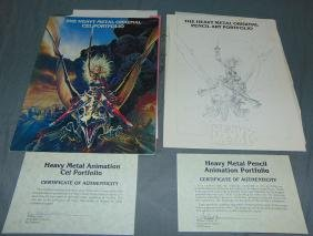 Heavy Metal Original Pencil & Cel Portfolio's