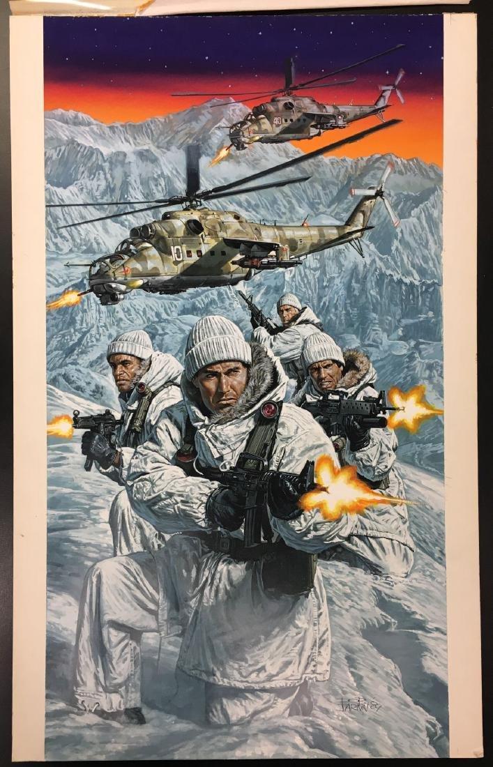 Bob Larkin, Original Paperback Cover Art 1990