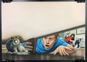 Bob Larkin, Original Contest Illustration Painting