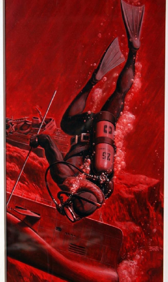Bob Larkin, Original Paperback Cover Painting - 2