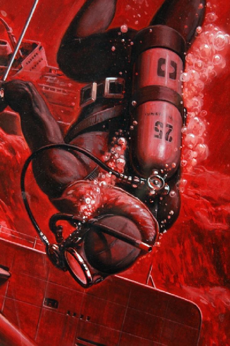 Bob Larkin, Original Paperback Cover Painting - 3