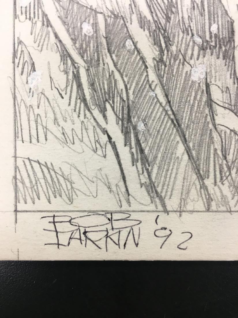 Bob Larkin, Original Western Pencil Illustration - 6